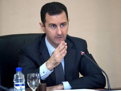 President Bashar al-Assad says he's confident his troops will win the conflict ravaging Syria. (AAP)
